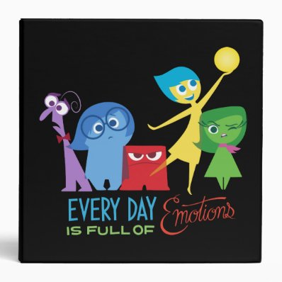 Everyday is Full of Emotions 3 Ring Binder