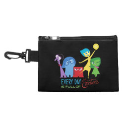 Clip On Accessory Bag with Every Day is Full of Emotions from Disney Pixar's Inside Out design