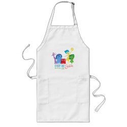 Long Apron with Every Day is Full of Emotions from Disney Pixar's Inside Out design