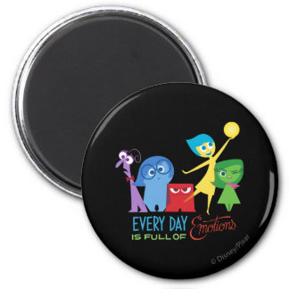 Everyday is Full of Emotions 2 Inch Round Magnet