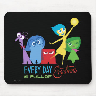 Everyday is Full of Emotions Mouse Pad