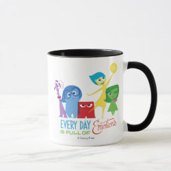Combo Mug with Every Day is Full of Emotions from Disney Pixar's Inside Out design
