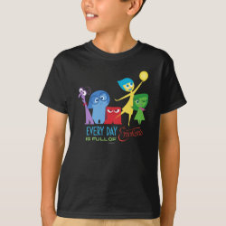 Kids' Hanes TAGLESS® T-Shirt with Every Day is Full of Emotions from Disney Pixar's Inside Out design