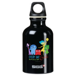 SIGG Traveller Water Bottle (0.6L) with Every Day is Full of Emotions from Disney Pixar's Inside Out design