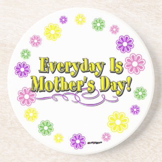 Everyday Is Mother's Day! Flower Ring Coaster