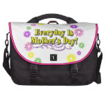 Everyday Is Mother's Day! Flower Ring Laptop Bag