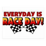 Everyday Is Race Day Post Card