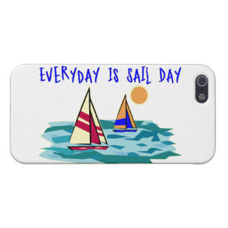 Everyday Is Sail Day iPhone 5 Covers