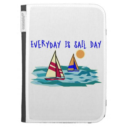 Everyday Is Sail Day Kindle 3G Case