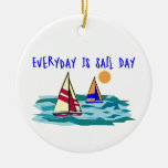 Everyday Is Sail Day Ornaments