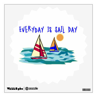 Everyday Is Sail Day Room Graphic