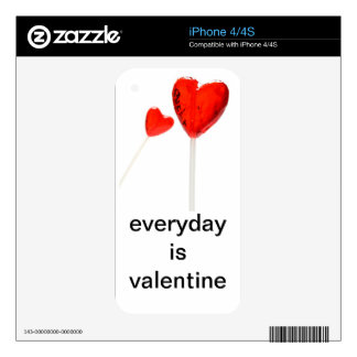 Everyday is valentine decals for iPhone 4S