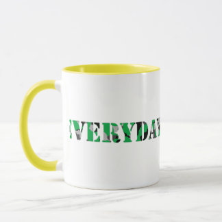 Everyday Junglist (Green) Mug
