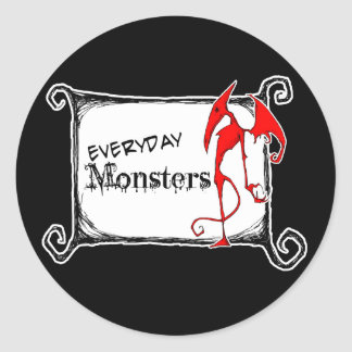 Everyday Monsters Sticker