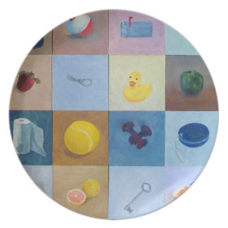 Everyday Objects Plate No. 3