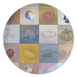 Everyday Objects Plate No. 4