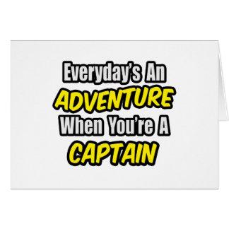 Everyday s An Adventure Captain Card