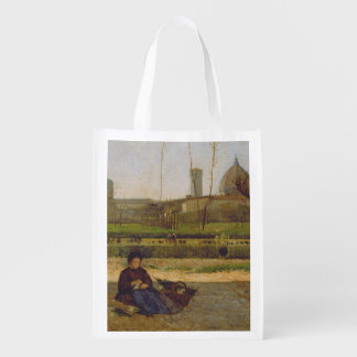 Everyday Scene, near Florence, c.1865 Grocery Bag