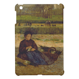 Everyday Scene, near Florence, c.1865 iPad Mini Cover