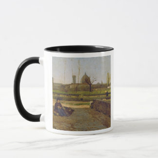 Everyday Scene, near Florence, c.1865 Mug