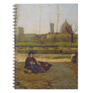 Everyday Scene, near Florence, c.1865 Notebook