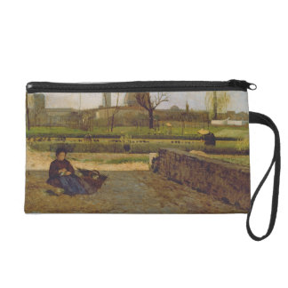 Everyday Scene, near Florence, c.1865 Wristlet Purse