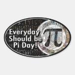 Everyday Should Be Pi Day Sticker