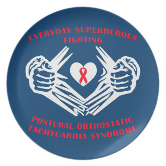 Everyday Superheroes - POTS Plate