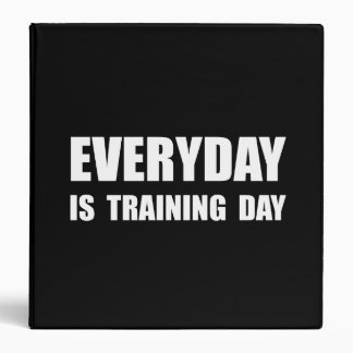 Everyday Training Day 3 Ring Binders