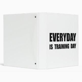 Everyday Training Day Vinyl Binder
