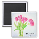 Everyday Tulips magnet
