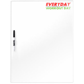 Everyday Workout Day Dry-Erase Board