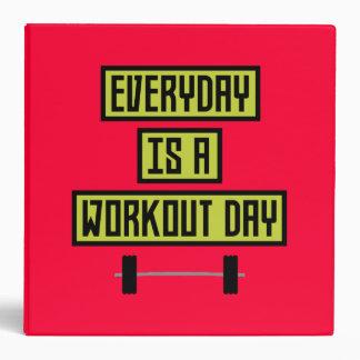 Everyday Workout Day Z81fo Binder