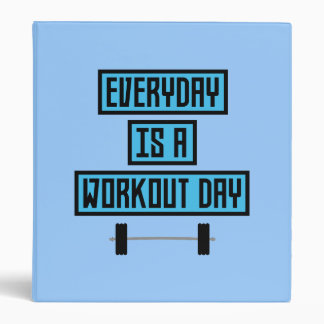 Everyday Workout Day Z852m Binder