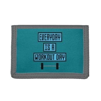 Everyday Workout Day Z852m Tri-fold Wallets