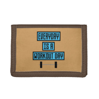 Everyday Workout Day Z852m Trifold Wallet