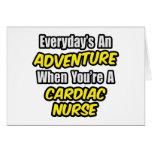 Everyday's An Adventure .. Cardiac Nurse Cards