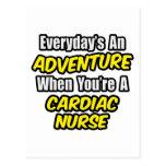 Everyday's An Adventure .. Cardiac Nurse Post Cards