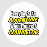 Everyday's An Adventure...Counselor Stickers