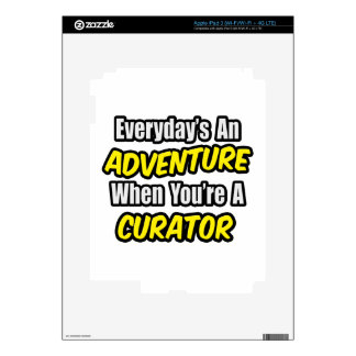 Everyday's An Adventure .. Curator Skin For iPad 3