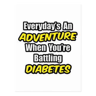 Everyday's An Adventure...Diabetes Postcard