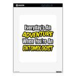 Everyday's An Adventure .. Entomologist iPad Skin