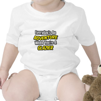 Everyday's An Adventure .. Glazier Baby Creeper