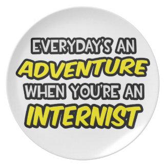 Everyday's An Adventure ... Internist Plates