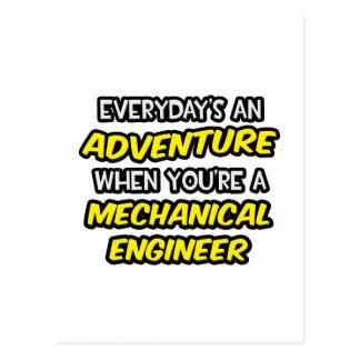 Everyday's An Adventure ... Mechanical Engineer Postcard