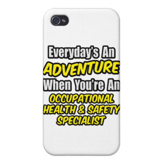 Everyday's An Adventure .. Occ Health Specialist iPhone 4 Covers