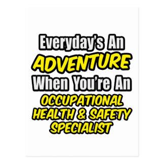 Everyday's An Adventure .. Occ Health Specialist Postcard