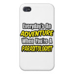 Everyday's An Adventure .. Parasitologist iPhone 4 Case