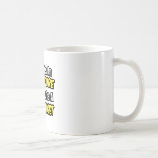 Everyday's An Adventure .. Parasitologist Classic White Coffee Mug