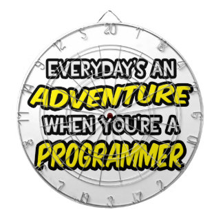 Everyday's An Adventure ... Programmer Dart Boards